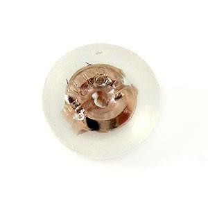 ピアス メンズ 片耳用 ピアスキャッチ ピンクゴールドk18 シリコンキャッチ k18PG18金 Mサイズ 男性用|atrus