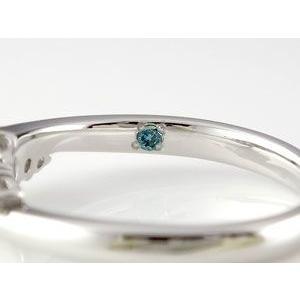 指輪 リング エンゲージリング 結婚指輪 指輪の内側ブルーダイヤモンド ダイヤ|atrus