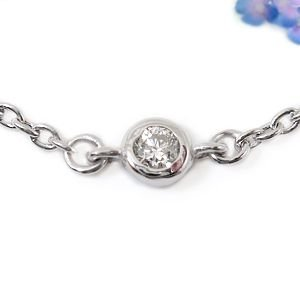ダイヤモンド アンクレットプラチナ850ダイヤモンド 0.05ctプラチナアンクレット4月の誕生石ダイヤモンド チェーン レディース ダイヤ 宝石 送料無料 atrus