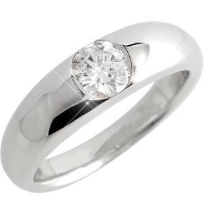 鑑定書付き 婚約指輪  エンゲージリング ダイヤモンド ハードプラチナ 一粒 大粒 SI ダイヤモンドリング pt950 ダイヤ ストレート|atrus