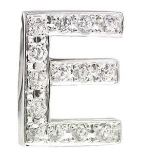 ダイヤモンド プラチナピンブローチ ラペルピン イニシャルブローチ E ダイヤ 0.18ct 人気ブローチ タックピン 送料無料|atrus