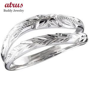 ハワイアンジュエリー メンズ ハワイアンリング ピンキーリング 指輪 プラチナリング プラチナ900 オリジナルリングストレート 男性用 送料無料 atrus