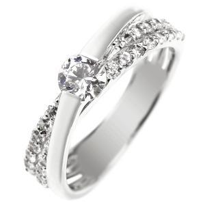 エンゲージリング プラチナ ダイヤモンド 鑑定書付き 婚約指輪 一粒 大粒 ダイヤ ストレート|atrus