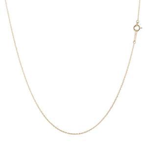 ネックレス チェーン のみ メンズ 18金 ネックレス メンズ ネックレス ピンクゴールドk18 アズキチェーン メンズ 45cm 地金 男性用 送料無料|atrus
