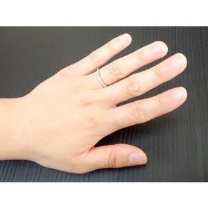 エンゲージリング プラチナ ダイヤモンド エタニティ 婚約指輪 ハーフエタニティ リング ダイヤ ストレート|atrus|03