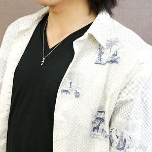 メンズ 選べる数字 ダイヤモンド ネックレス ホワイトゴールドk18 ナンバー 数字 チェーン 人気 18金 ダイヤ 男性用 18k|atrus|04