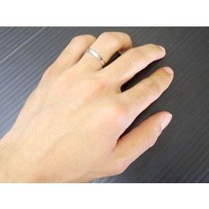 結婚指輪 プラチナ ペアリング 人気 マリッジリング カットリング ダイヤモンドカット ダイヤ ストレート カップル|atrus|04