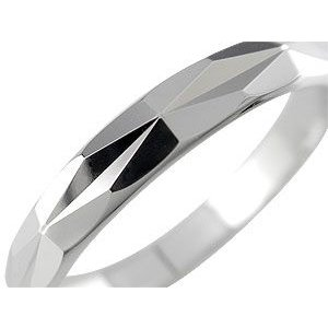 結婚指輪 プラチナ ペアリング 人気 マリッジリング ダイヤモンドカット ダイヤ ストレート カップル|atrus|02