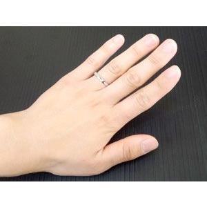 結婚指輪 プラチナ ペアリング 人気 マリッジリング ダイヤモンドカット ダイヤ ストレート カップル|atrus|03