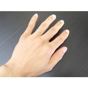 結婚指輪 プラチナ ペアリング 人気 マリッジリング ダイヤモンドカット ダイヤ ストレート カップル|atrus|04