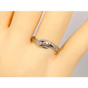 ペアリング 結婚指輪 ピンクサファイア ダイヤモンド ホワイトゴールドk18 ピンクゴールドk18 結婚式 18金 ダイヤ ストレート カップル 2.3 宝石|atrus|05