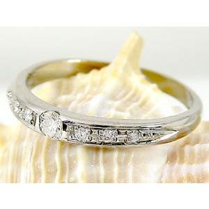 ペアリング プラチナ ダイヤモンド 鑑定書付き 結婚指輪 結婚式 ダイヤ ストレート カップル|atrus|02