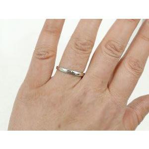 ペアリング プラチナ ダイヤモンド 鑑定書付き 結婚指輪 結婚式 ダイヤ ストレート カップル|atrus|05