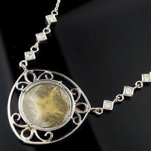 プラチナ ネックレス 誕生石 スライスダイヤモンド プラチナ ネックレス ペンダント ダイヤ レディース あすつく 送料無料|atrus