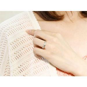 ペアリング 結婚指輪 マリッジリング ダイヤモンド ホワイトゴールドk18 結婚式 18金 ダイヤ ストレート カップル|atrus|04