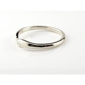 ペアリング ダイヤモンド 結婚指輪 マリッジリング ホワイトゴールドk18 シンプル つや消し 18金 ダイヤ ストレート スイートペアリィー|atrus|02