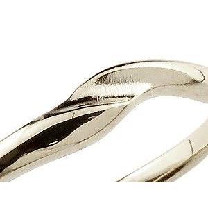 ペアリング ダイヤモンド 結婚指輪 マリッジリング ホワイトゴールドk18 シンプル つや消し 18金 ダイヤ ストレート スイートペアリィー|atrus|04