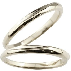 ペアリング シルバーリング 結婚指輪 マリッジリング 地金リング つや消し シンプル ストレート カップル|atrus