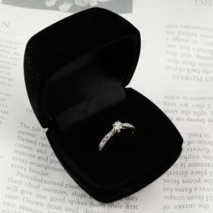 指輪 リング ジュエリーケース 指輪ケース 収納 ブラック あすつく atrus