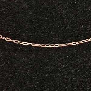 18金 ネックレス 切り売り ネックレス ピンクゴールドk18 アズキ 角アズキ チェーン 鎖 レディース 地金 atrus