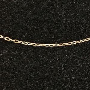 18金 ネックレス 切り売り ネックレス イエローゴールドk18 アズキ 角アズキ チェーン 鎖 レディース 地金|atrus