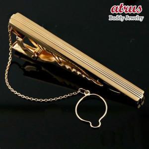 メンズジュエリー タイホルダー k18 ゴールド 18金 ネクタイピン タイバー 男性用 送料無料