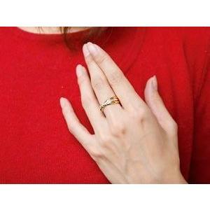 ハワイアンジュエリー ペアリング 結婚指輪 マリッジリング 3連リング プラチナ ゴールドK18 甲丸リング 地金リング スリーカラー pt900 18金 ストレート2.3|atrus|04