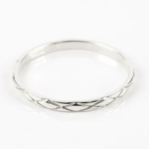 ペアリング プラチナ ダイヤモンド 結婚指輪 マリッジリング リング 一粒 pt900 華奢 アンティーク ストレート スイートペアリィー カップル  最短納期 夏|atrus|03