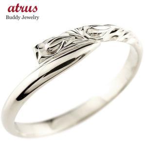 ハワイアンジュエリー シルバー925リング 指輪 ハワイアンリング スパイラル 地金 レディース|atrus