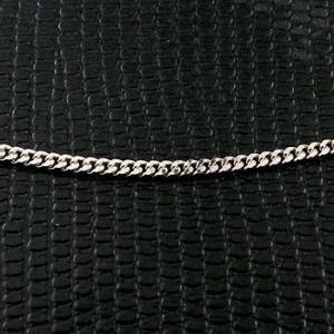 プラチナ 喜平 ネックレス 切り売り 1cm単位 2面カット 2ミリ幅 チェーン 鎖 レディース pt850 キヘイ 地金 お好みの長さで買える atrus
