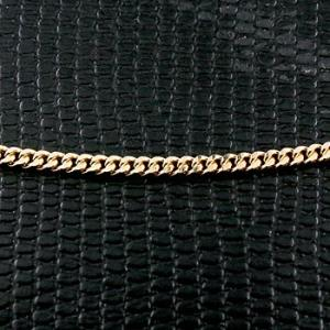 18金 ネックレス 切り売り 喜平 ネックレス イエローゴールドk18 2面カット 2.3ミリ幅 チェーン 鎖 レディース キヘイ 地金|atrus