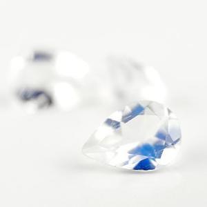 ブルームーンストーン ペアシェイプ 5×7ミリ ルース 1石 つゆ ツユ 6月誕生石 宝石|atrus