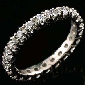 ダイヤモンド エタニティ 婚約指輪 エンゲージリング フルエタニティリング 1.00ct プラチナリング リング ダイヤ 指輪 ストレート pt900|atrus