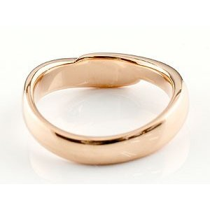婚約指輪 エンゲージリング ダイヤモンド リング 指輪 ダイヤ ダイヤモンドリング ピンクゴールドk18 スパイラル ウェーブリング 18金 レディース|atrus|04