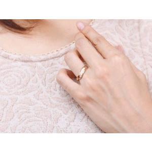 婚約指輪 エンゲージリング ダイヤモンド リング 指輪 ダイヤ ダイヤモンドリング ピンクゴールドk18 スパイラル ウェーブリング 18金 レディース|atrus|05
