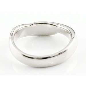 エンゲージリング プラチナ ダイヤモンド 婚約指輪 リング 指輪 ピンキーリング ダイヤ リング スパイラル ウェーブリング pt900 レディース|atrus|04
