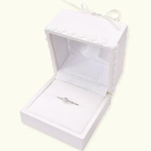 指輪 エンゲージリング 婚約指輪 リング用ジュエリーケース 指輪ケース 収納 贈り物 お花 送料無料|atrus