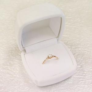 指輪 リング ジュエリーケース 指輪ケース 収納 ホワイト|atrus