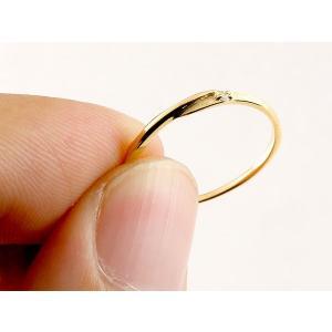 スイートペアリィー インフィニティ ペアリング 結婚指輪 マリッジリング ダイヤモンド イエローゴールドk18 プラチナ900 S字 つや消し 18金 華奢  最短納期|atrus|04