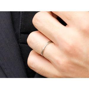 スイートペアリィー インフィニティ ペアリング 結婚指輪 マリッジリング ダイヤモンド イエローゴールドk18 プラチナ900 S字 つや消し 18金 華奢  最短納期|atrus|06