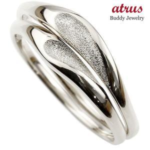 ペアリング プラチナ 結婚指輪 マリッジリング ハート シンプル つや消し スターダスト加工 pt900 ストレート スイートペアリィー カップル 送料無料 atrus