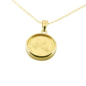 フェニックス 純金貨 ペンダントネックレス エリザベス イギリス 純金 イエローゴールドk18 1/30オンスコイン リバーシブル レディース 2017年コイン|atrus