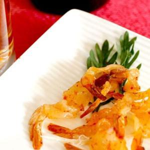 一杯の珍極 ピリ辛焼えび おつまみ 肴 珍味 プチギフト ミニサイズ あすつく|atrus