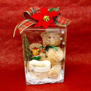 クリスマス プレゼント用 ラッピング くま ぬいぐるみ サンタ ツリー トナカイ プレゼント ギフトラッピング ジュエリーケース 指輪 ピアス ネックレス あすつく atrus