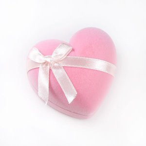 マルチジュエリーケース ハート ピンク リボン 収納 リング ペンダント ピアス イヤリング ネックレス ブレスレット ケース カラー レディース atrus