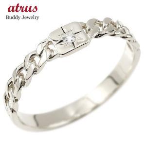 喜平 リング シルバー 指輪 ダイヤ 一粒 メンズ シンプル ダイヤモンドリング ストレート sv925 男性用 コントラッド 東京 トレジャーハンター|atrus