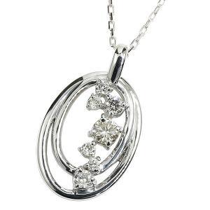 ダイヤモンド プラチナネックレス ペンダント ダイヤ チェーン 人気 レディース pt900 サークル あすつく 送料無料|atrus