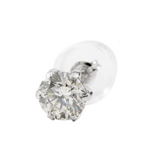 メンズ ピアス ダイヤ 片耳 ダイヤモンド 一粒 0.3ct 4月誕生石 スタッドピアス プラチナ シンプル pt900 天然石 レディース 宝石 あすつく 送料無料|atrus