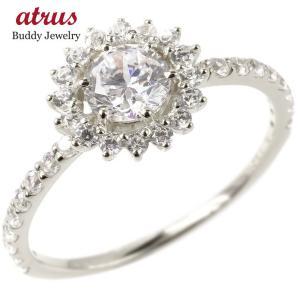 婚約指輪 安い シルバー リング レディース スワロフスキー...