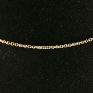 18金 ネックレス ネックレス イエローゴールドk18 k18 アズキ 切売り レディース 地金 atrus